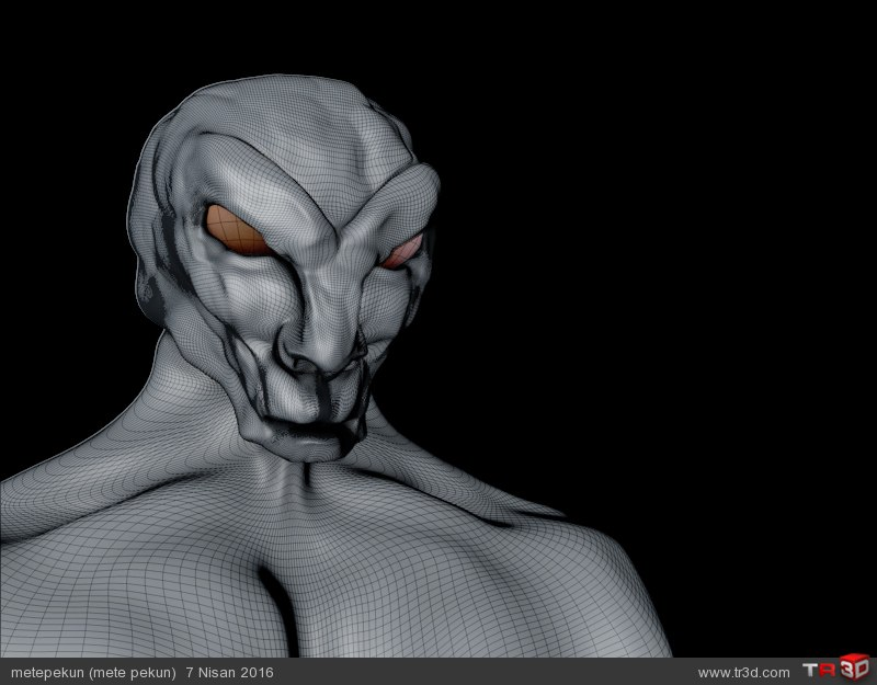 Sci fi Creature 3