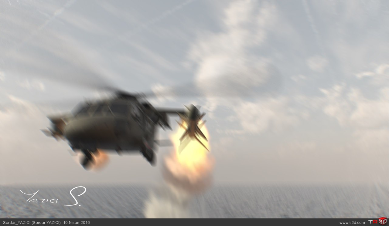 House Attack VFX Shot