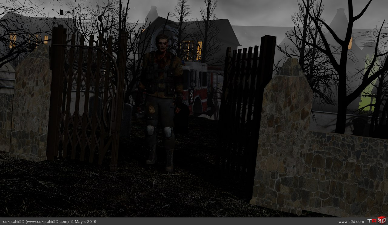 Yerli Yapım Zombie Animasyon 1