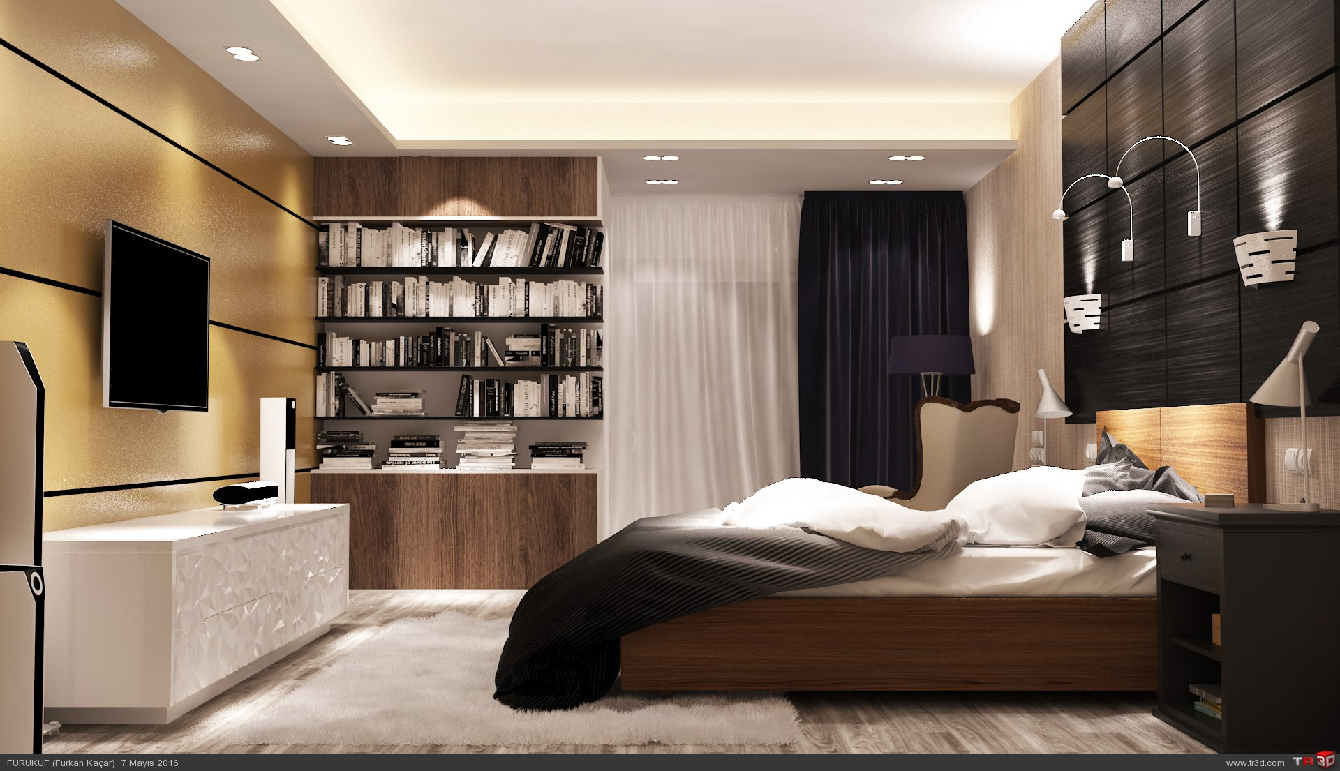 Luxury Bedroom 1