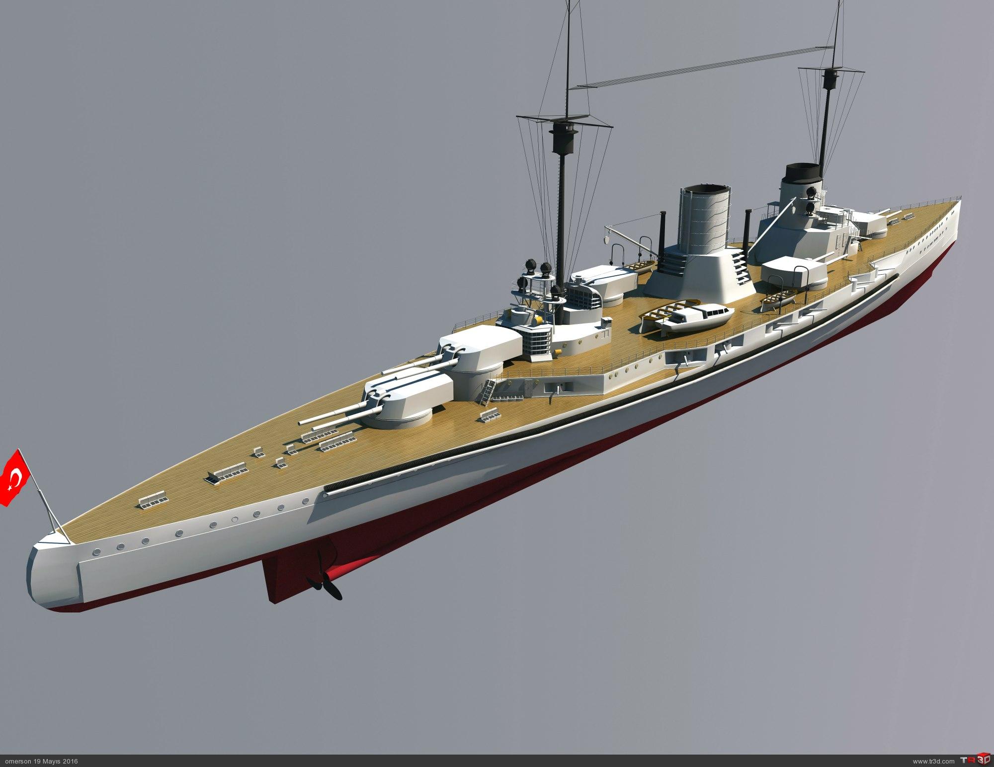 SMS GOEBEN-TCG YAVUZ Battlecruiser 1