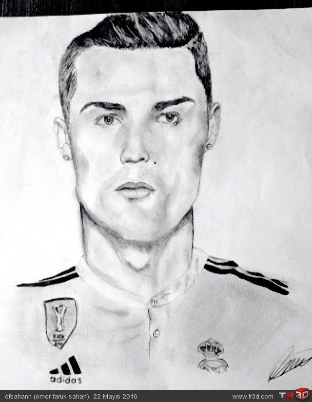 Cristiano Ronaldo Çizimim