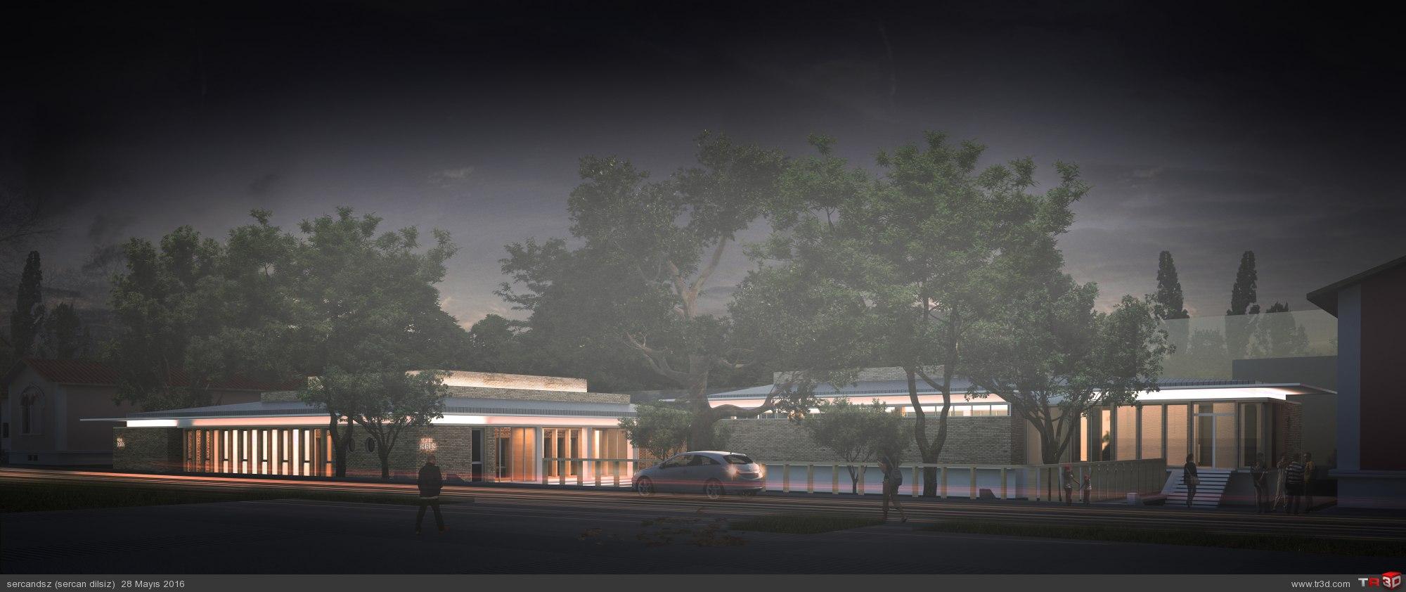 Kreş ve Arşiv Binası