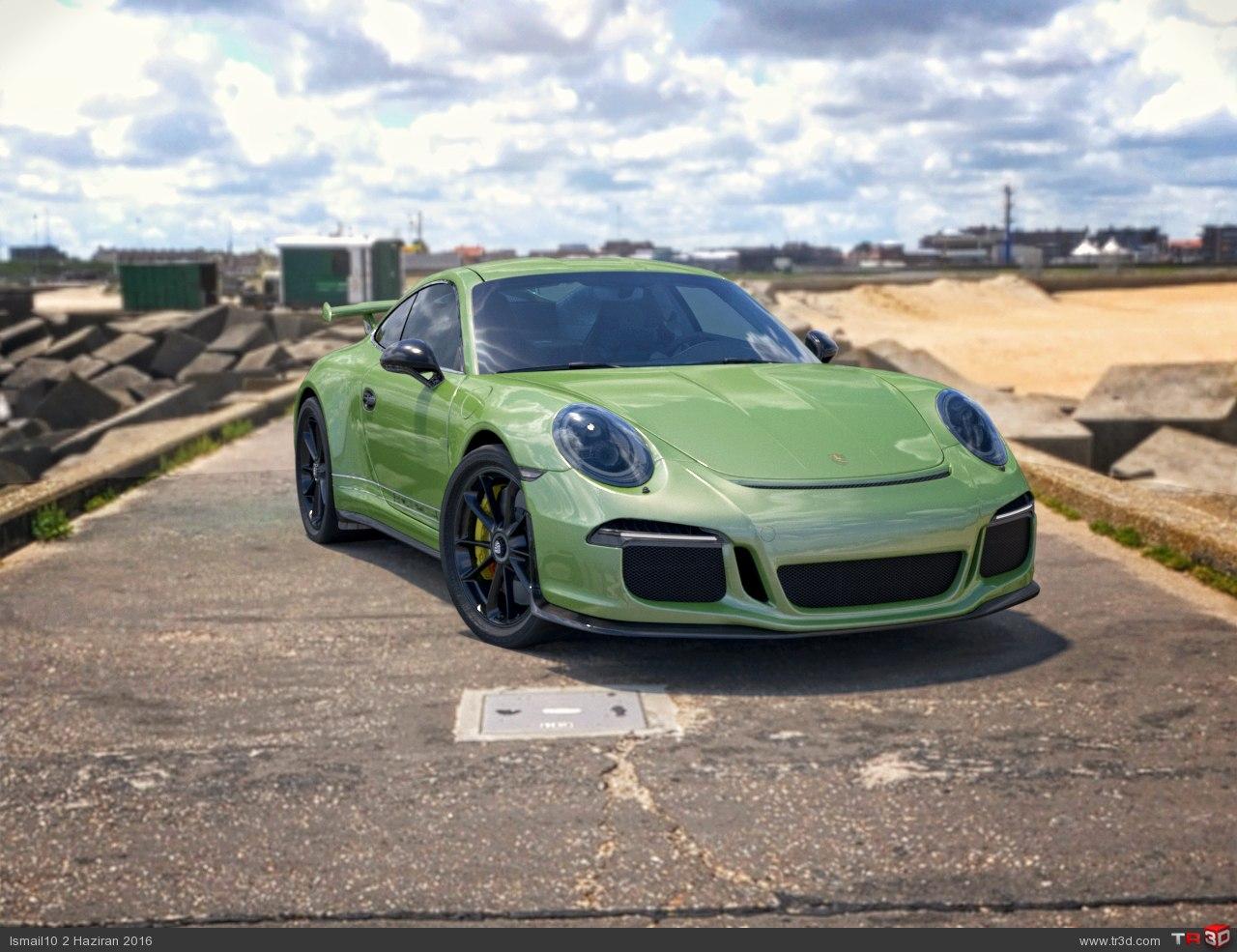 Porsche_GT3_yesil
