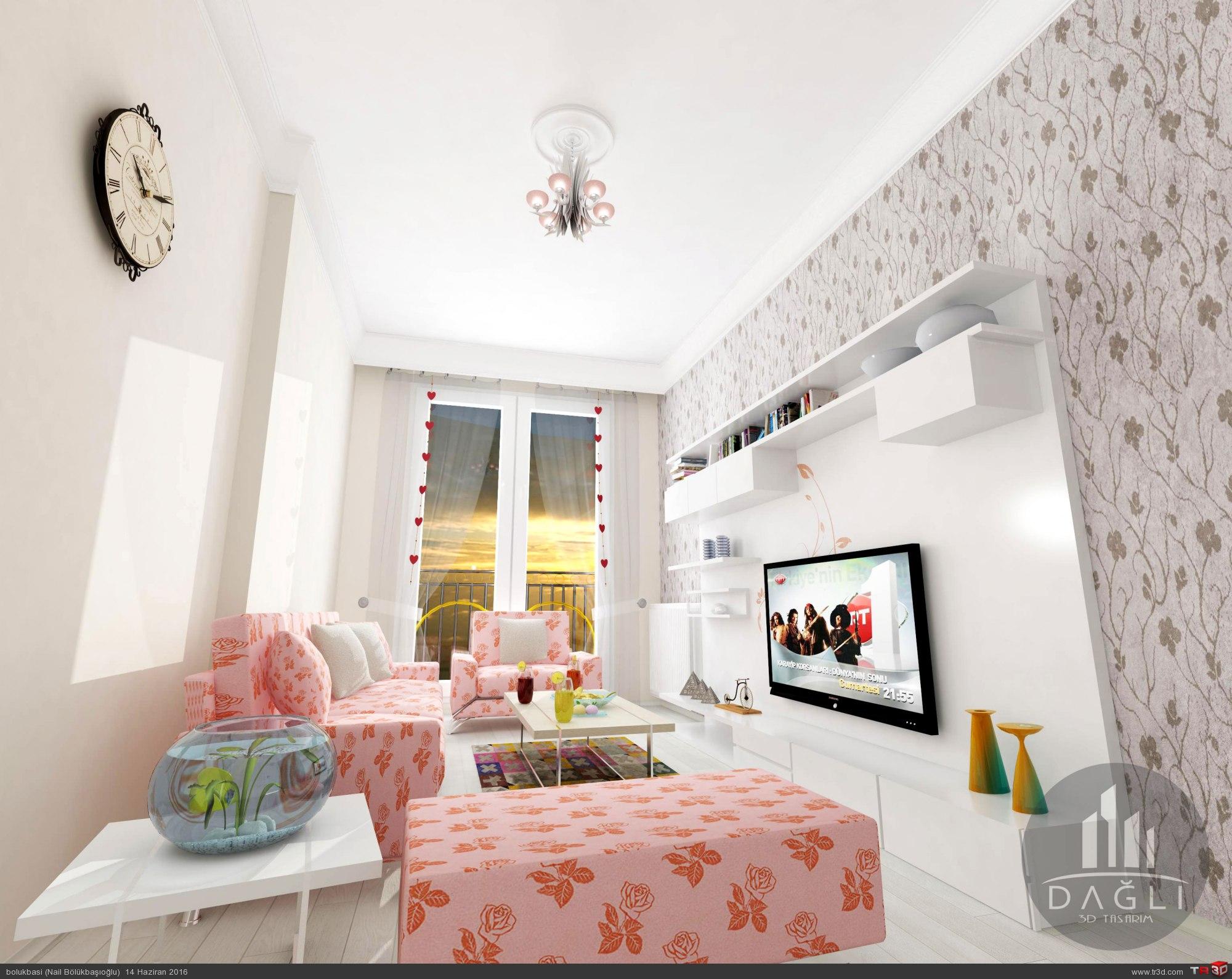oturma odası,iç mekan tasarım 1