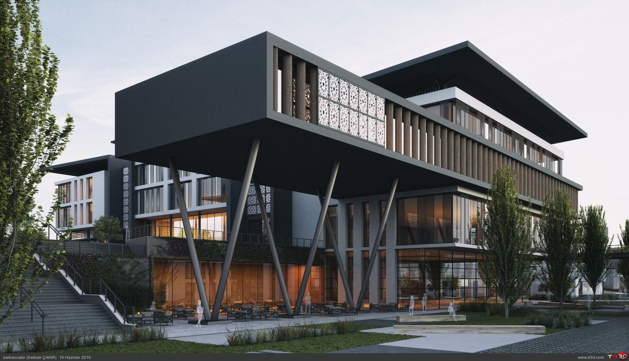 Trabzon Ortahisar Belediye Binası