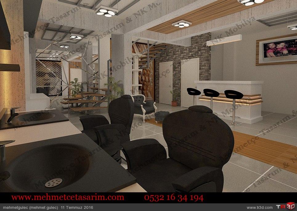 erkek kuaför salonu tasarımları , erkek kuaför salon tasarımları , erkek kuaför salon modelleri , berber tezgahı , berber dekerasyonu , berber koltuğu 3