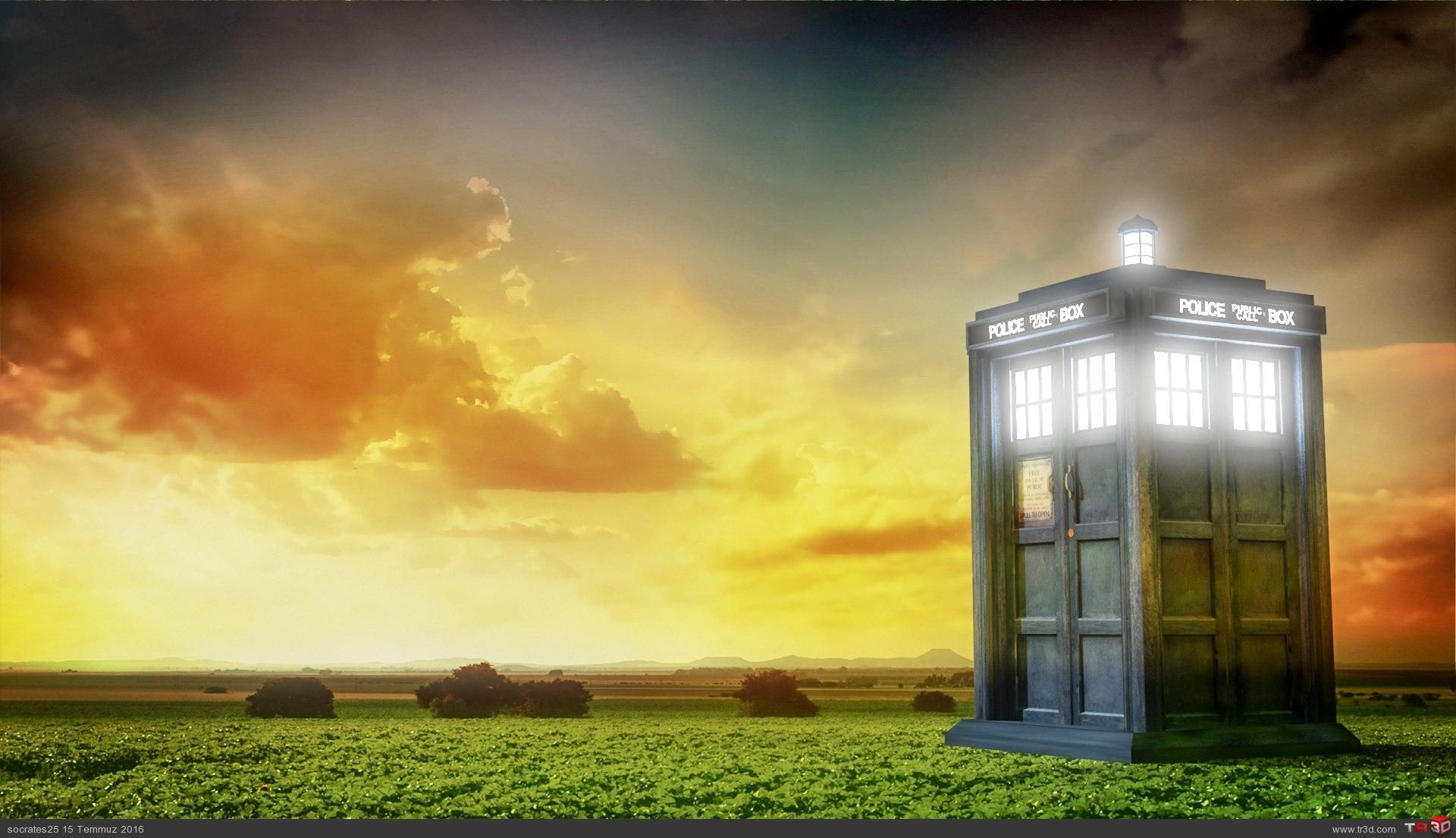 Tardis (Dr. Who) 1