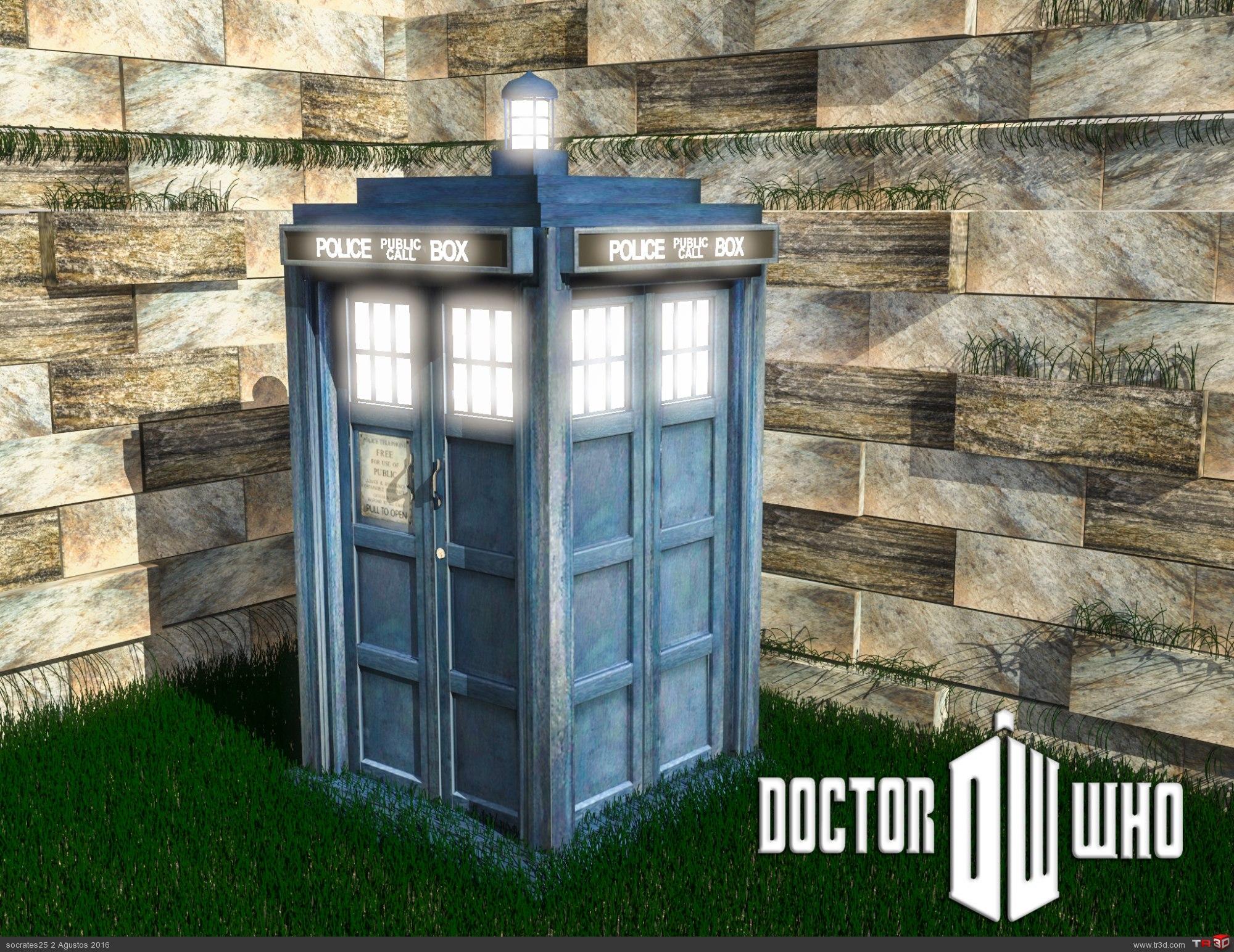 Tardis (Dr. Who) 2