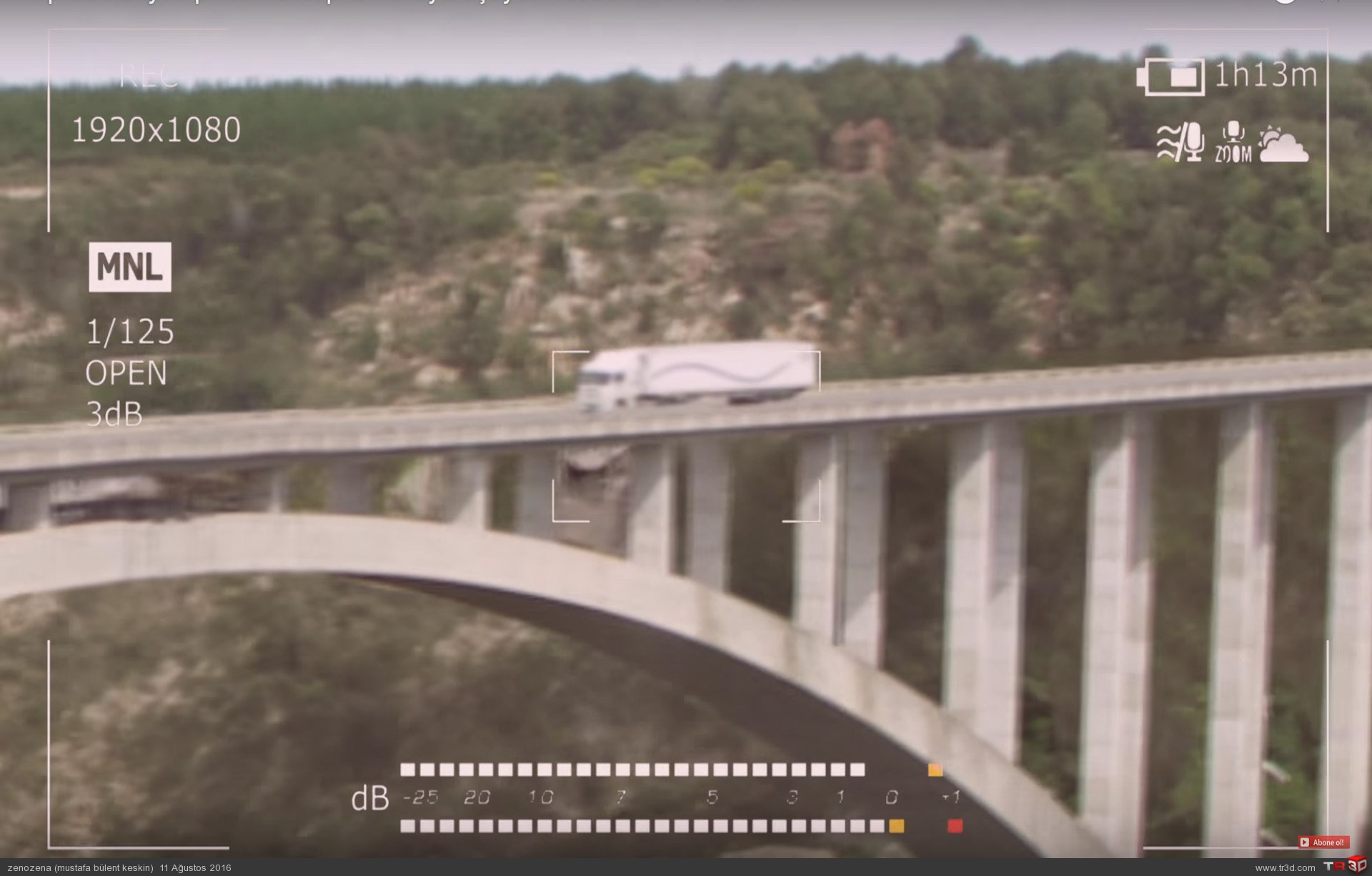 Köprüde büyük patlama 1