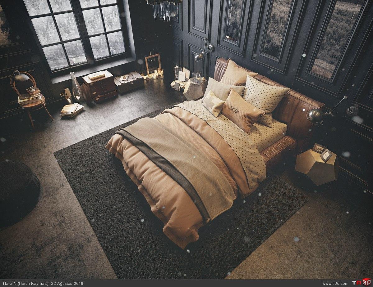 Black Bedroom 1