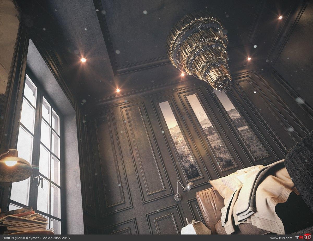 Black Bedroom 2