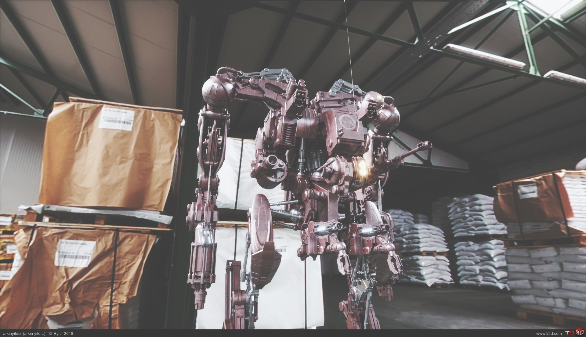 Robot 9 - Lighting & Shader Test