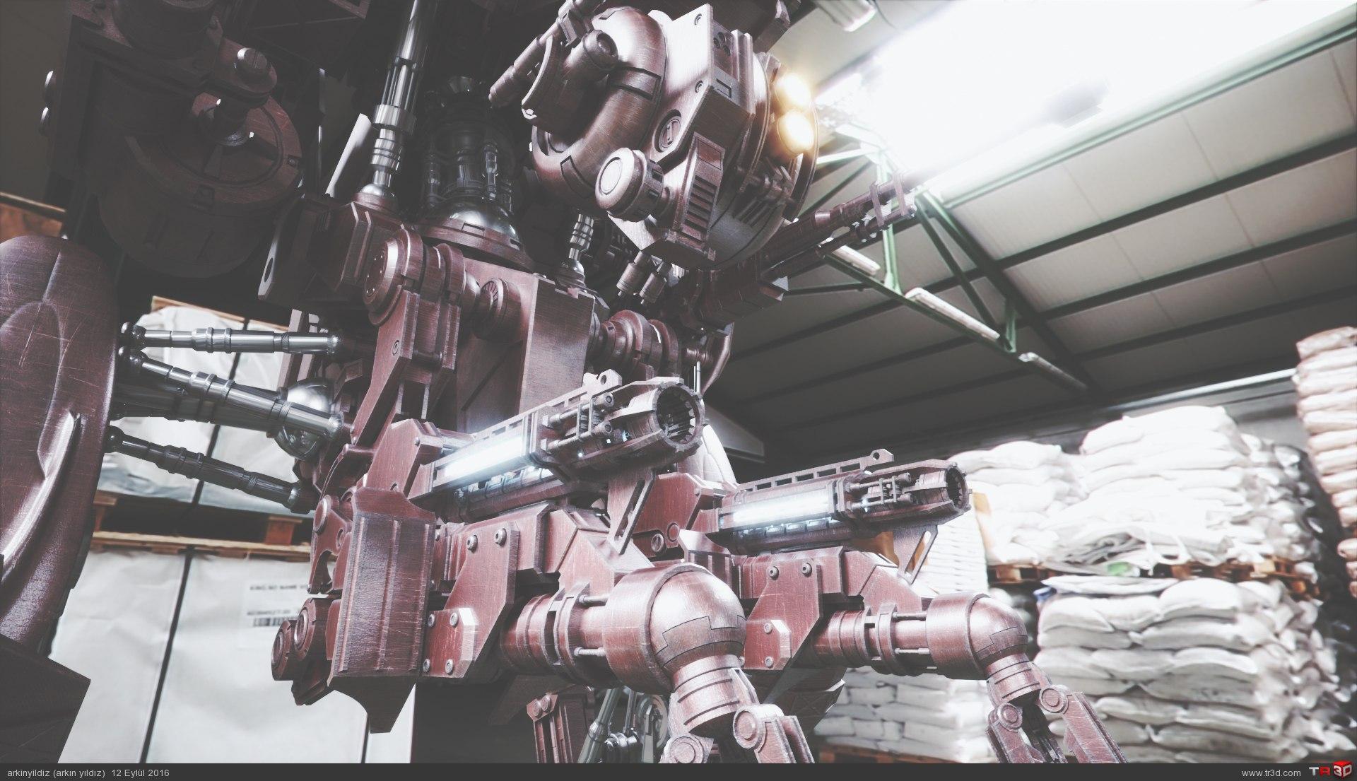 Robot 9 - Lighting & Shader Test 2