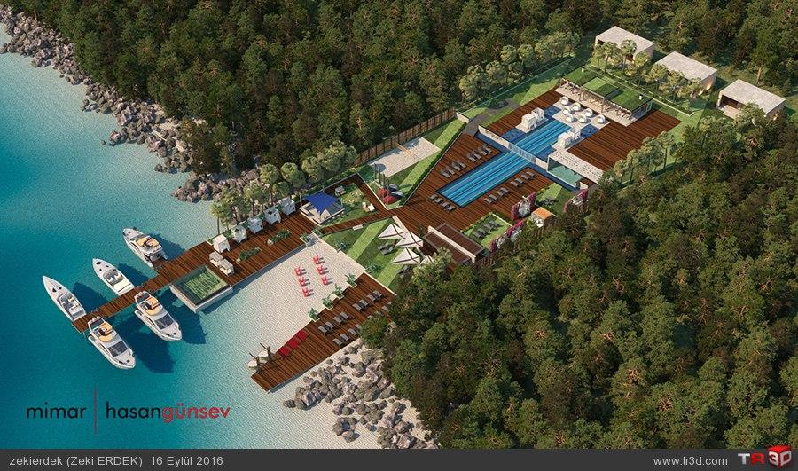 Upper House Hotel Plaj - ANTALYA/Kaş