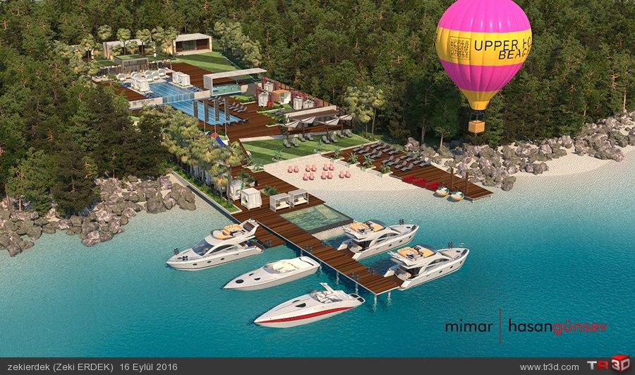 Upper House Hotel Plaj - ANTALYA/Kaş 1