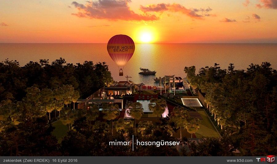 Upper House Hotel Plaj - ANTALYA/Kaş 2