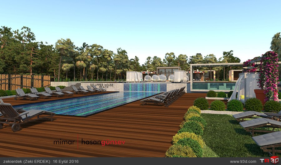 Upper House Hotel Plaj - ANTALYA/Kaş 3