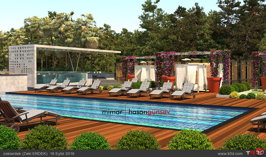 Upper House Hotel Plaj - ANTALYA/Kaş 4