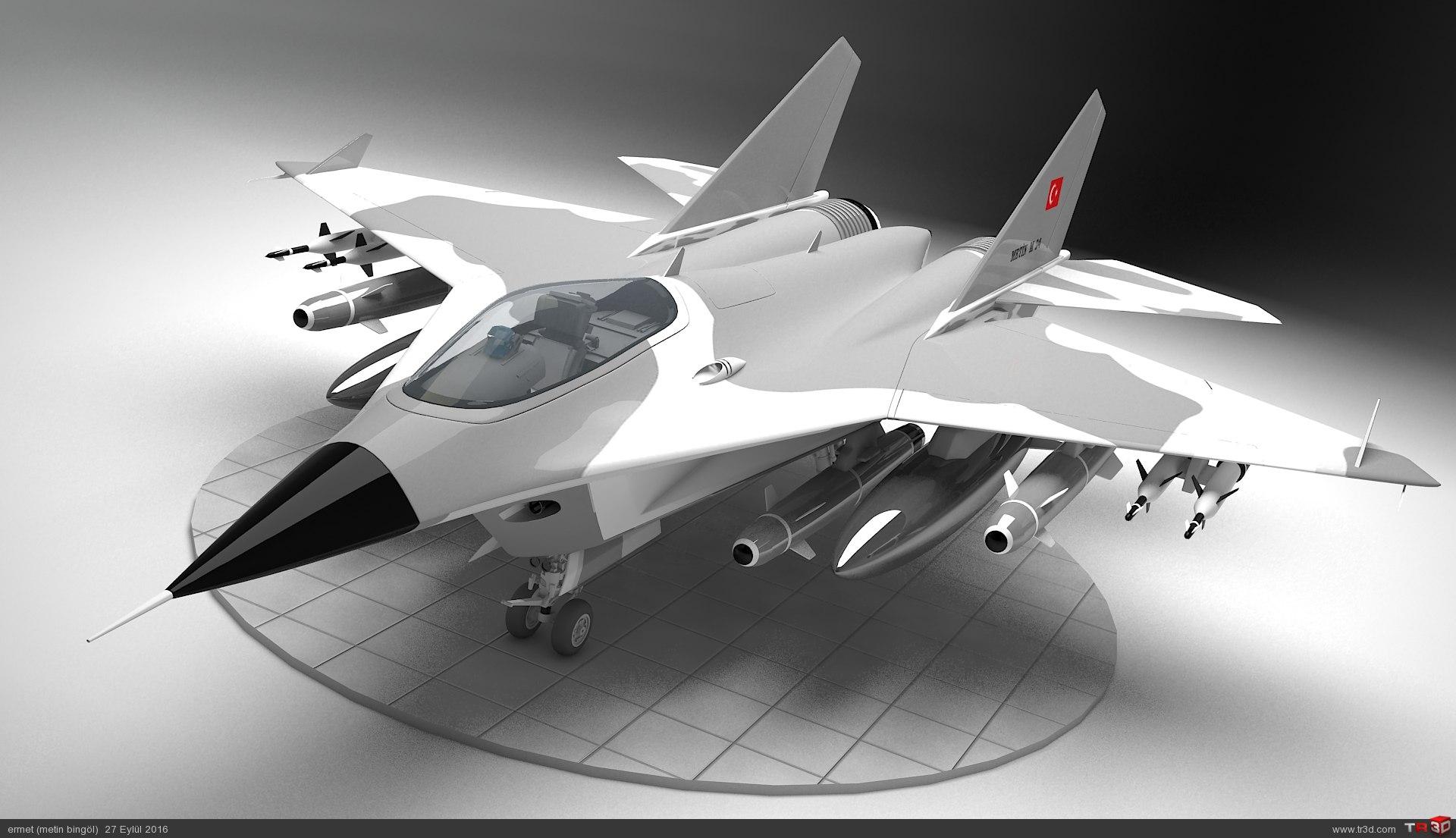 metin serisi milli türk savaş uçağı metin M 24 1