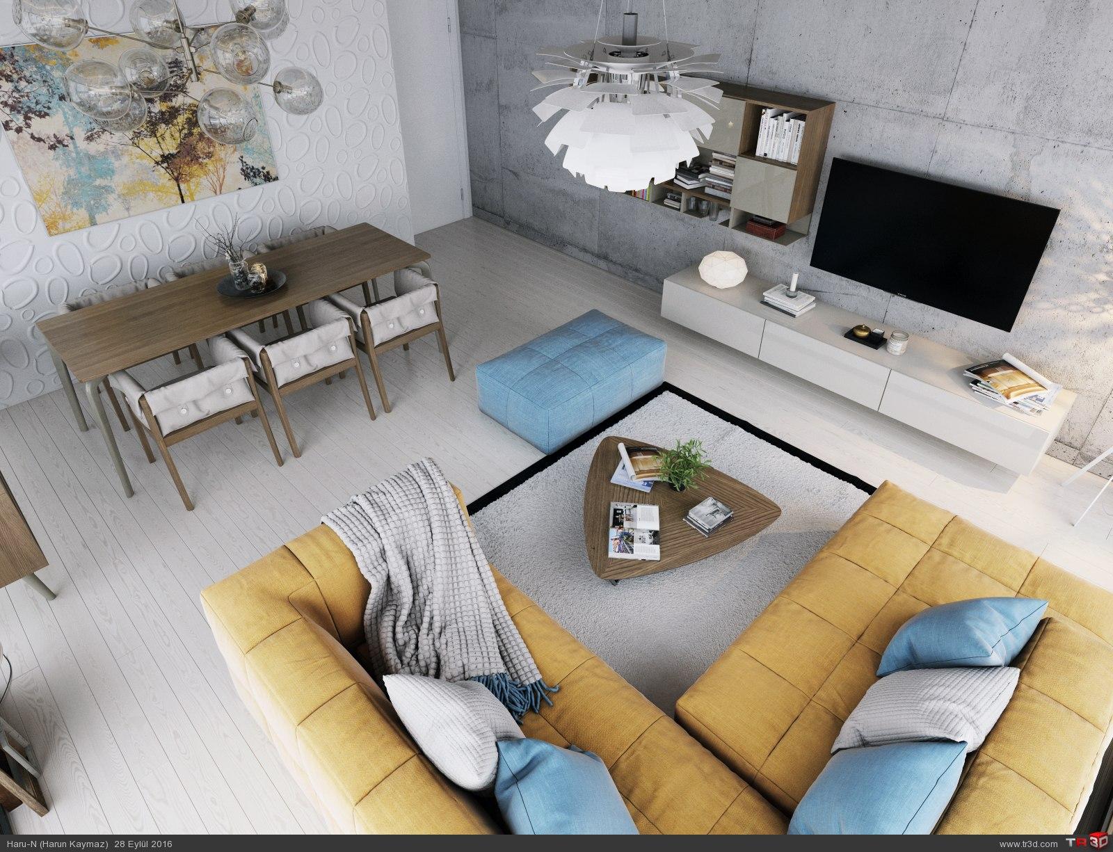 Modern Livingroom 3