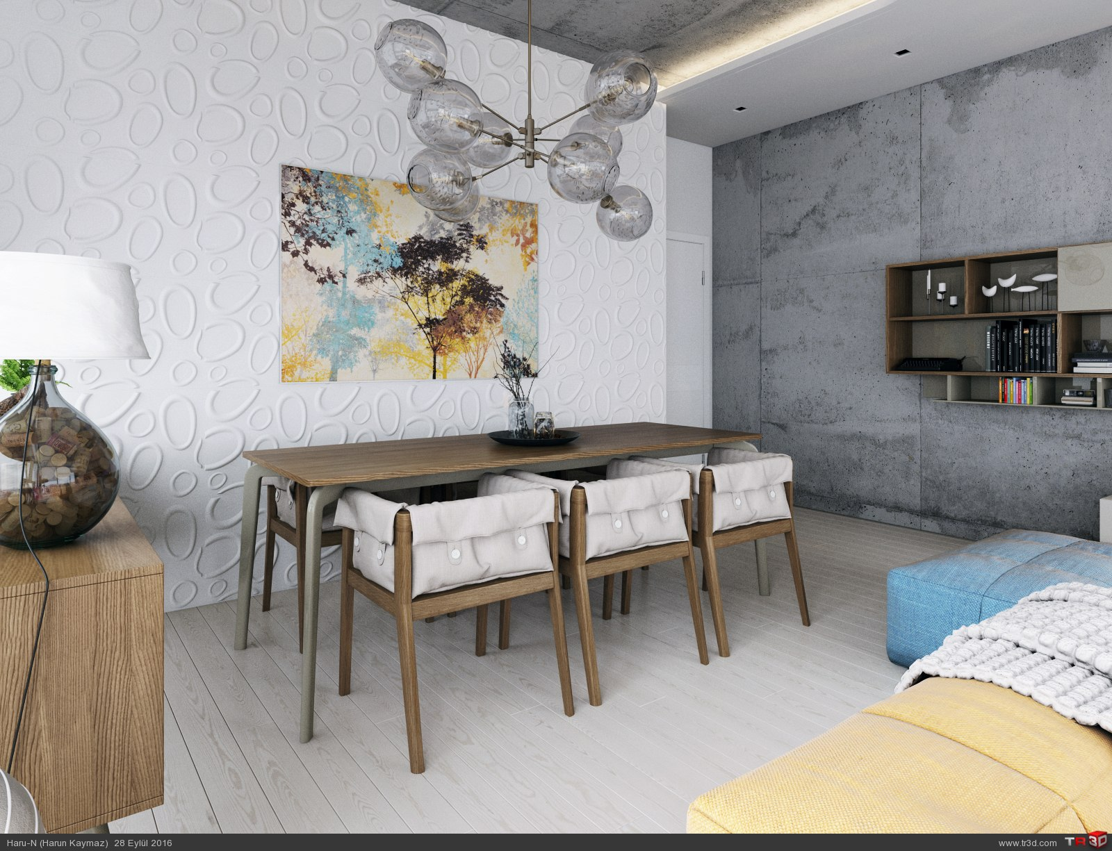 Modern Livingroom 4