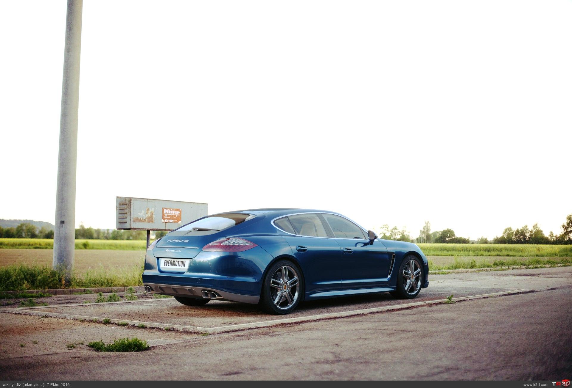 Porsche - Lighting & Shader Test