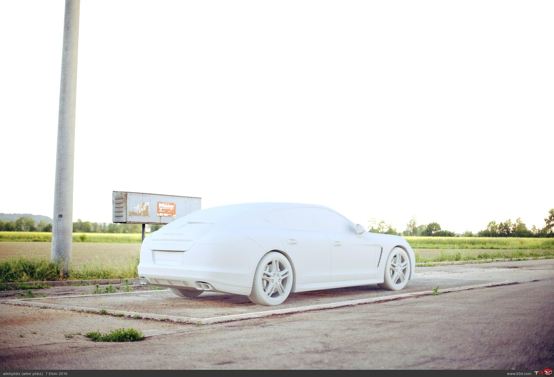 Porsche - Lighting & Shader Test 1