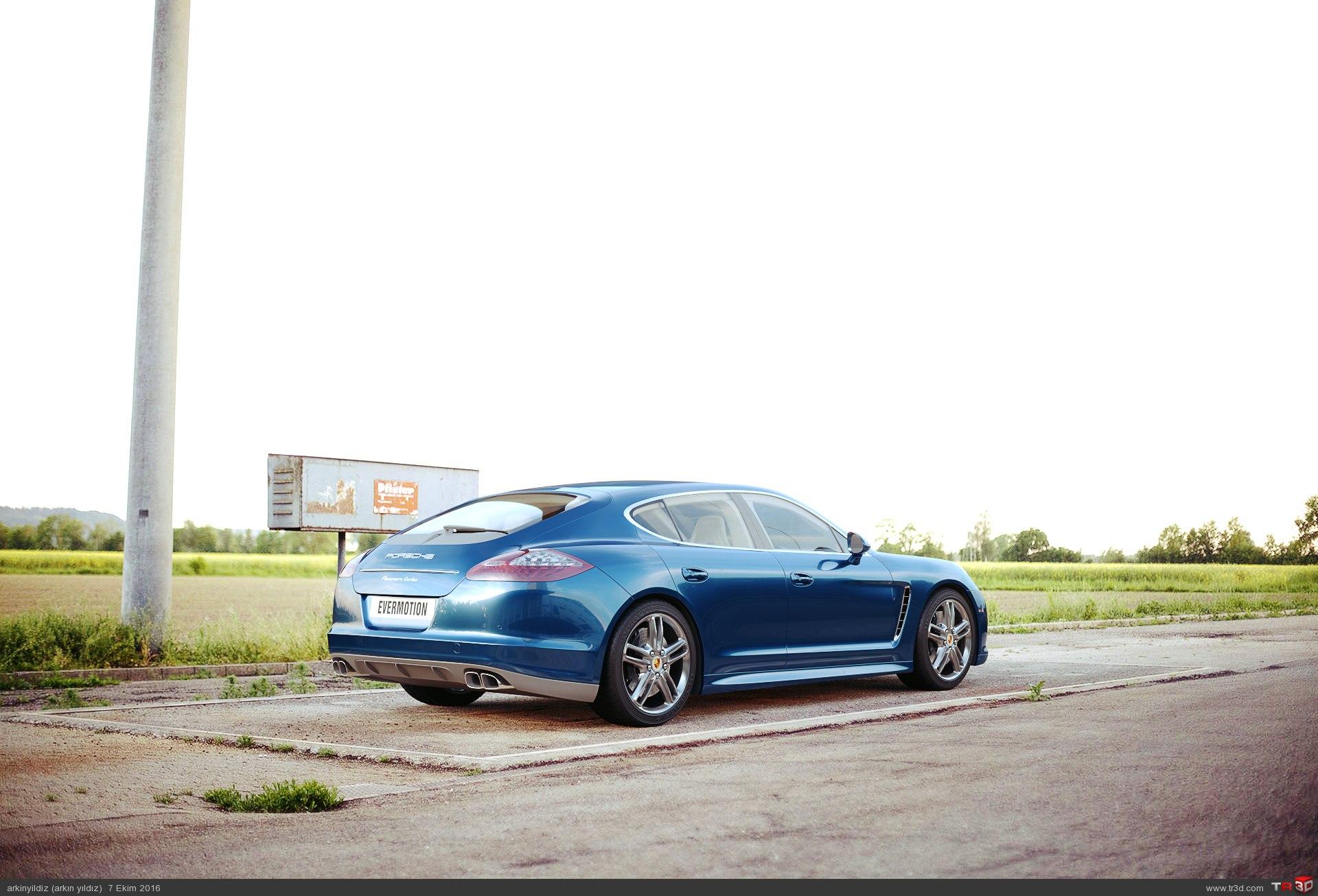 Porsche - Lighting & Shader Test 2