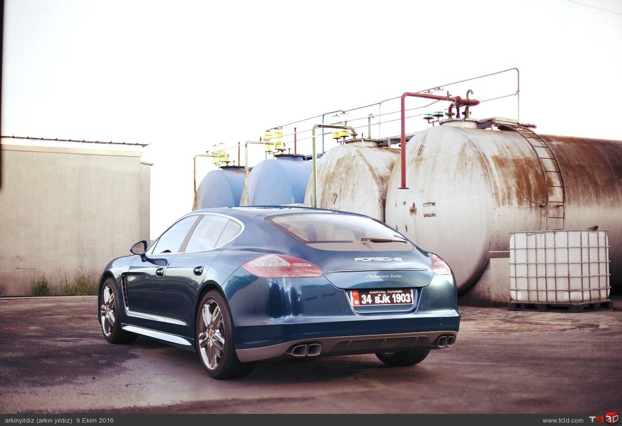 Porsche - Animasyon Test