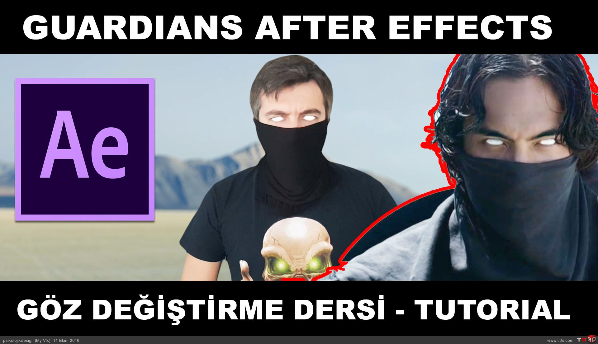 Guardians After Effects Göz Değiştirme Dersi | Eye Changing Tutorial
