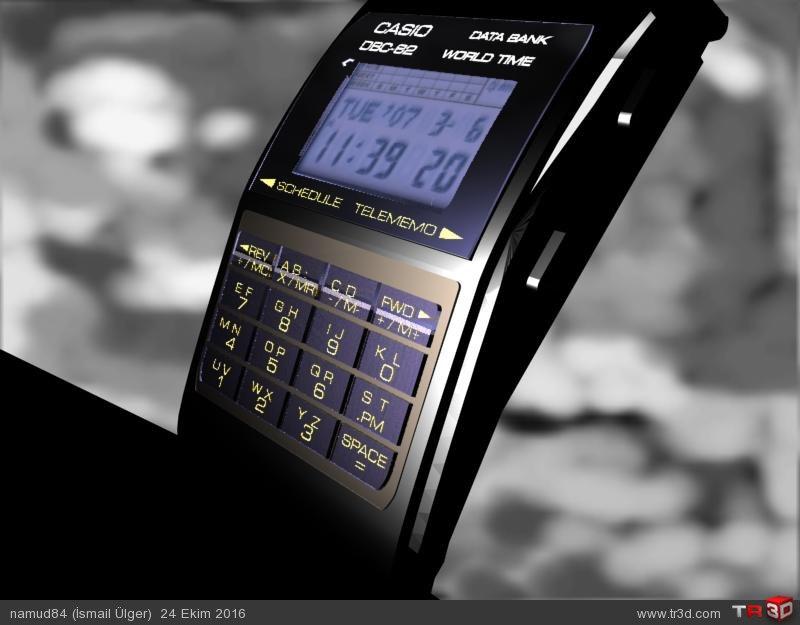 Casio dbc62 model dijital saat 1
