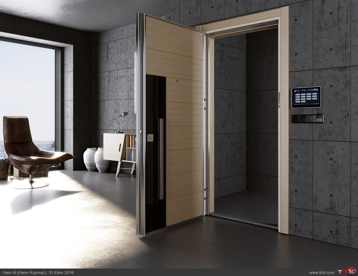 Katalog çalışması (Çelik kapı) 3