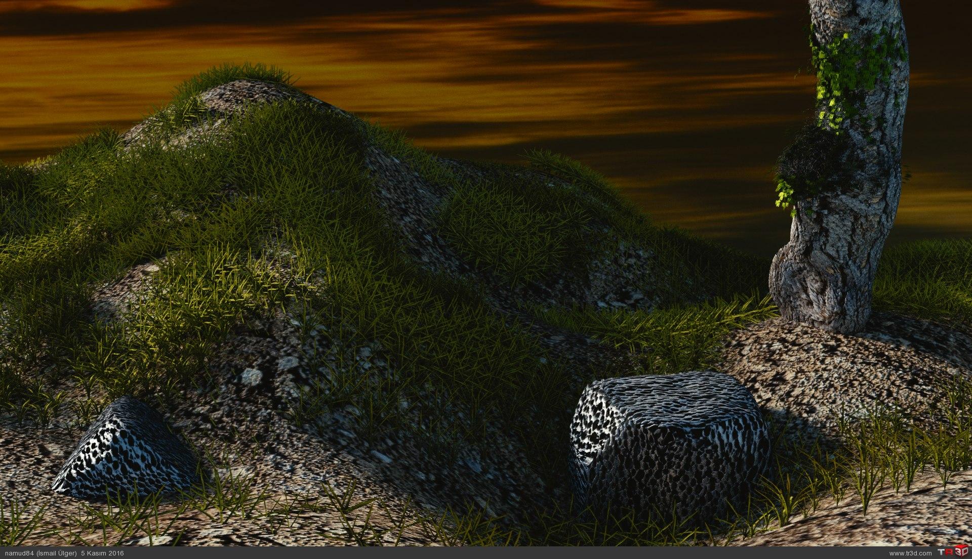 Çimenli tepe