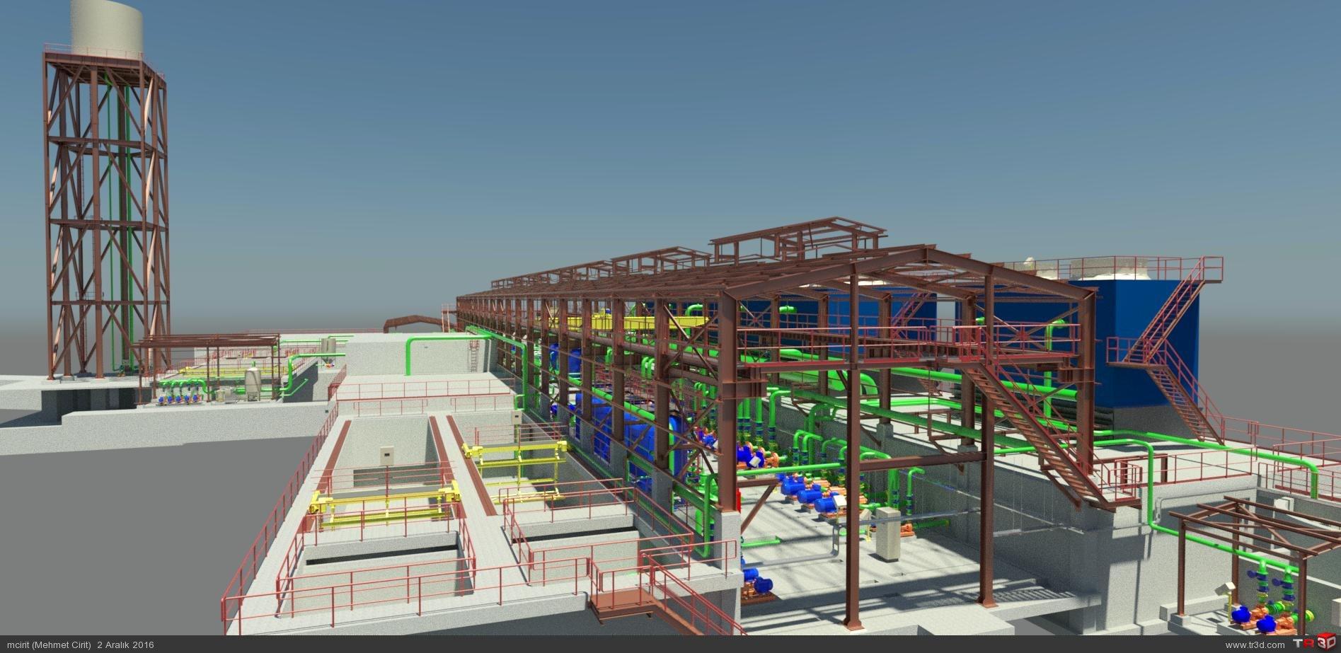Fulad Nab Tabriz & ARC WT Co.  Water Treatment Plant 1