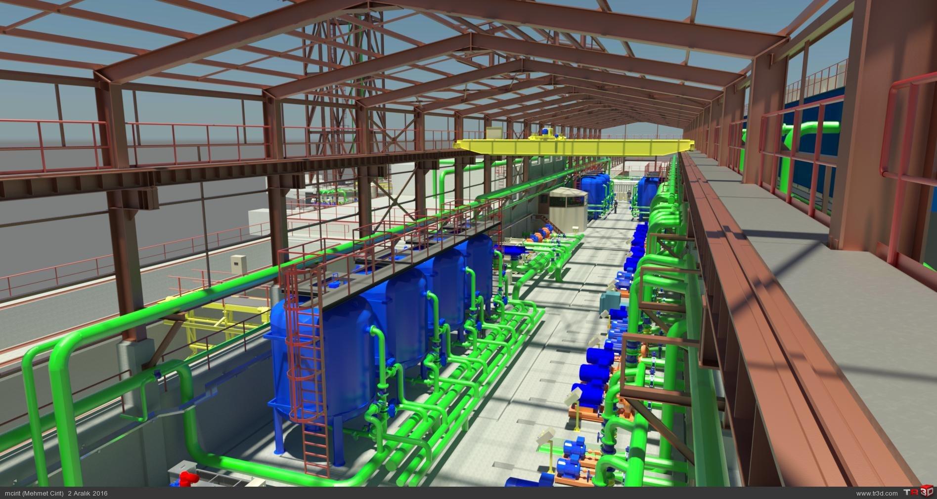 Fulad Nab Tabriz & ARC WT Co.  Water Treatment Plant 2