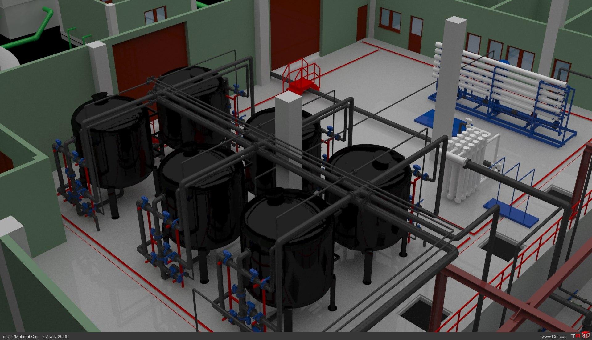 ARC WT Co. Tunçbilek Kömür Suyu Biyolojik, Kimyasal Arıtma Tesisi 2