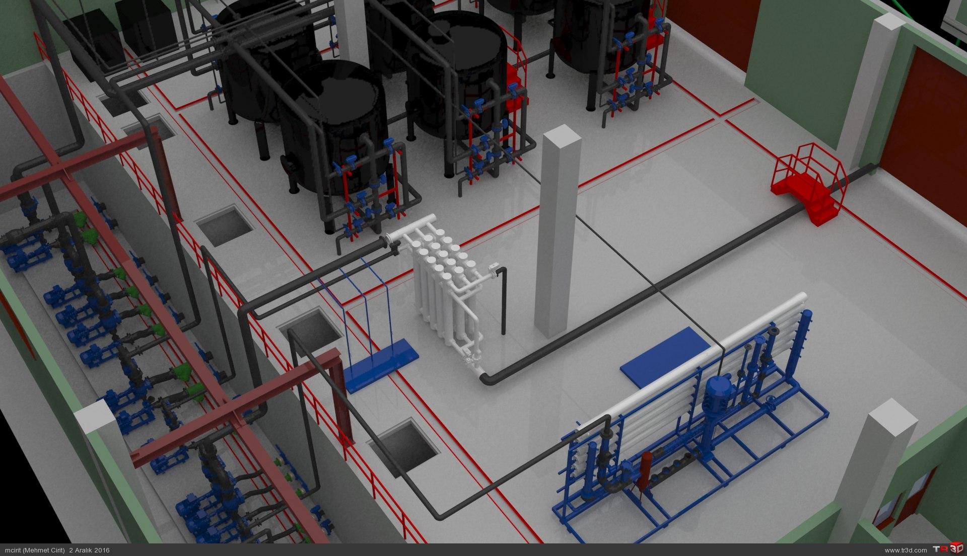 ARC WT Co. Tunçbilek Kömür Suyu Biyolojik, Kimyasal Arıtma Tesisi 3