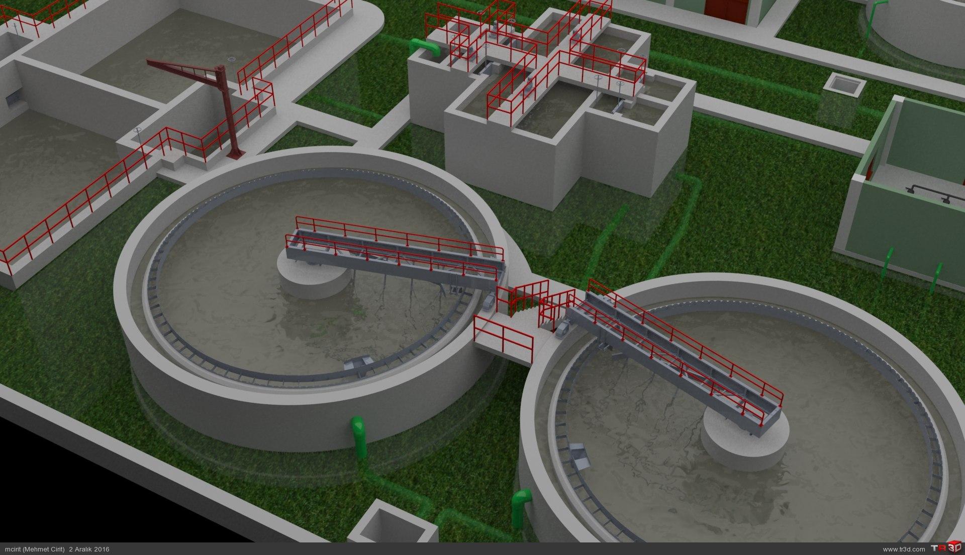 ARC WT Co. Tunçbilek Kömür Suyu Biyolojik, Kimyasal Arıtma Tesisi 4