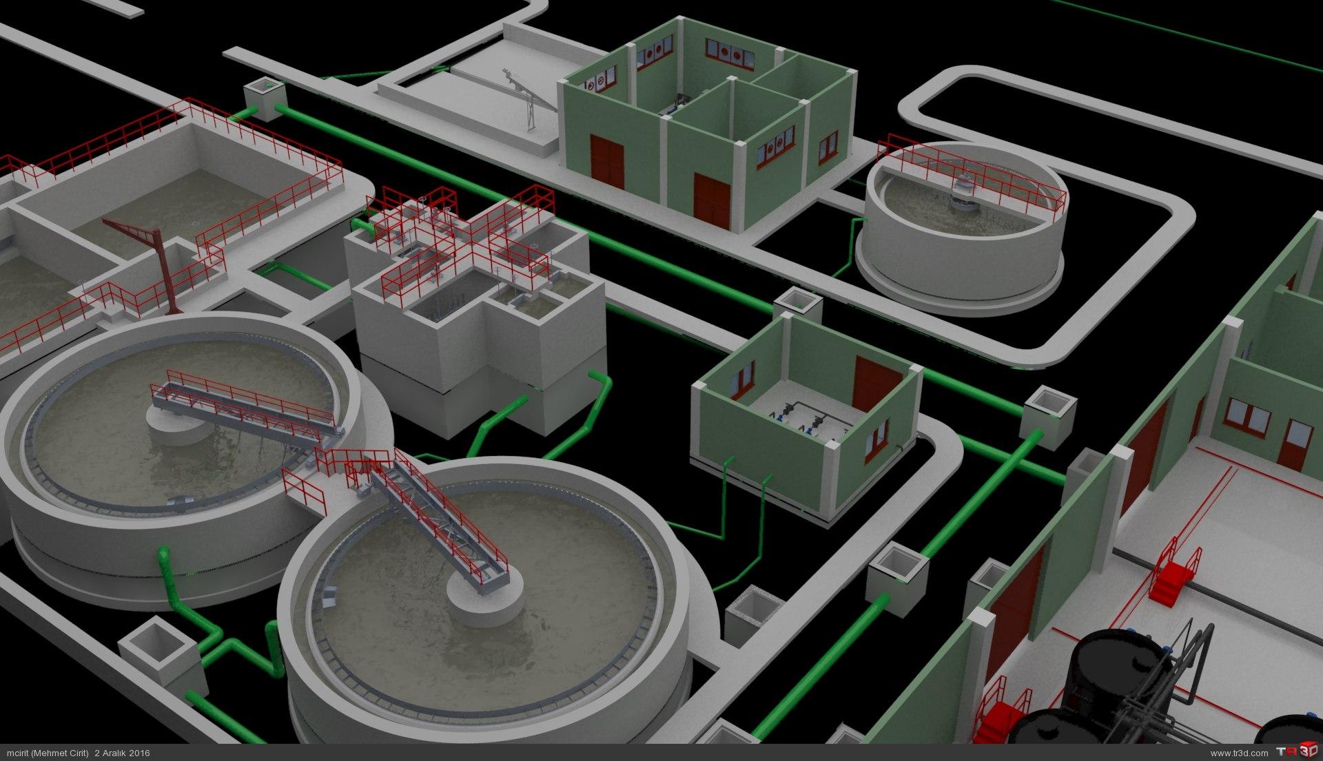 ARC WT Co. Tunçbilek Kömür Suyu Biyolojik, Kimyasal Arıtma Tesisi 5