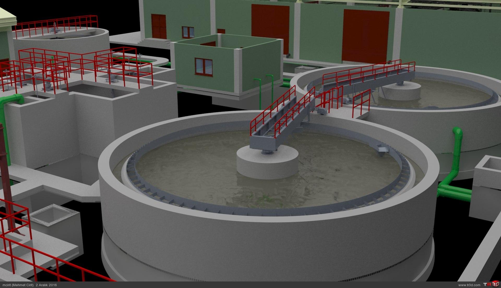 ARC WT Co. Tunçbilek Kömür Suyu Biyolojik, Kimyasal Arıtma Tesisi 6