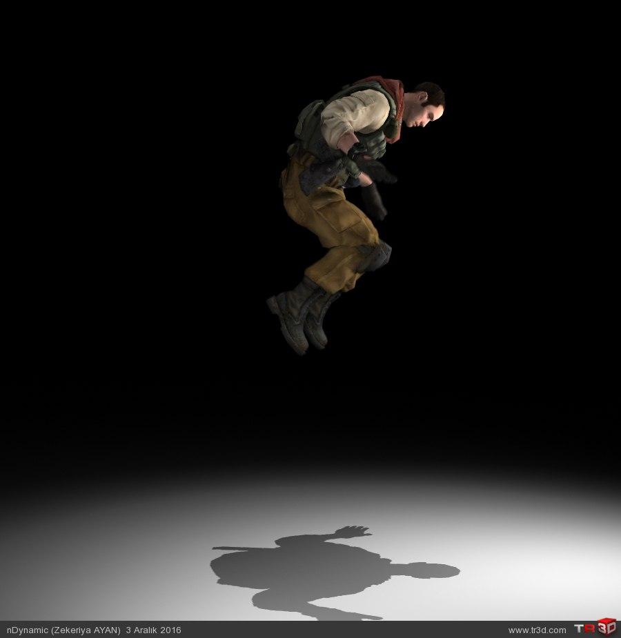 Zıplama animasyon (jumping)