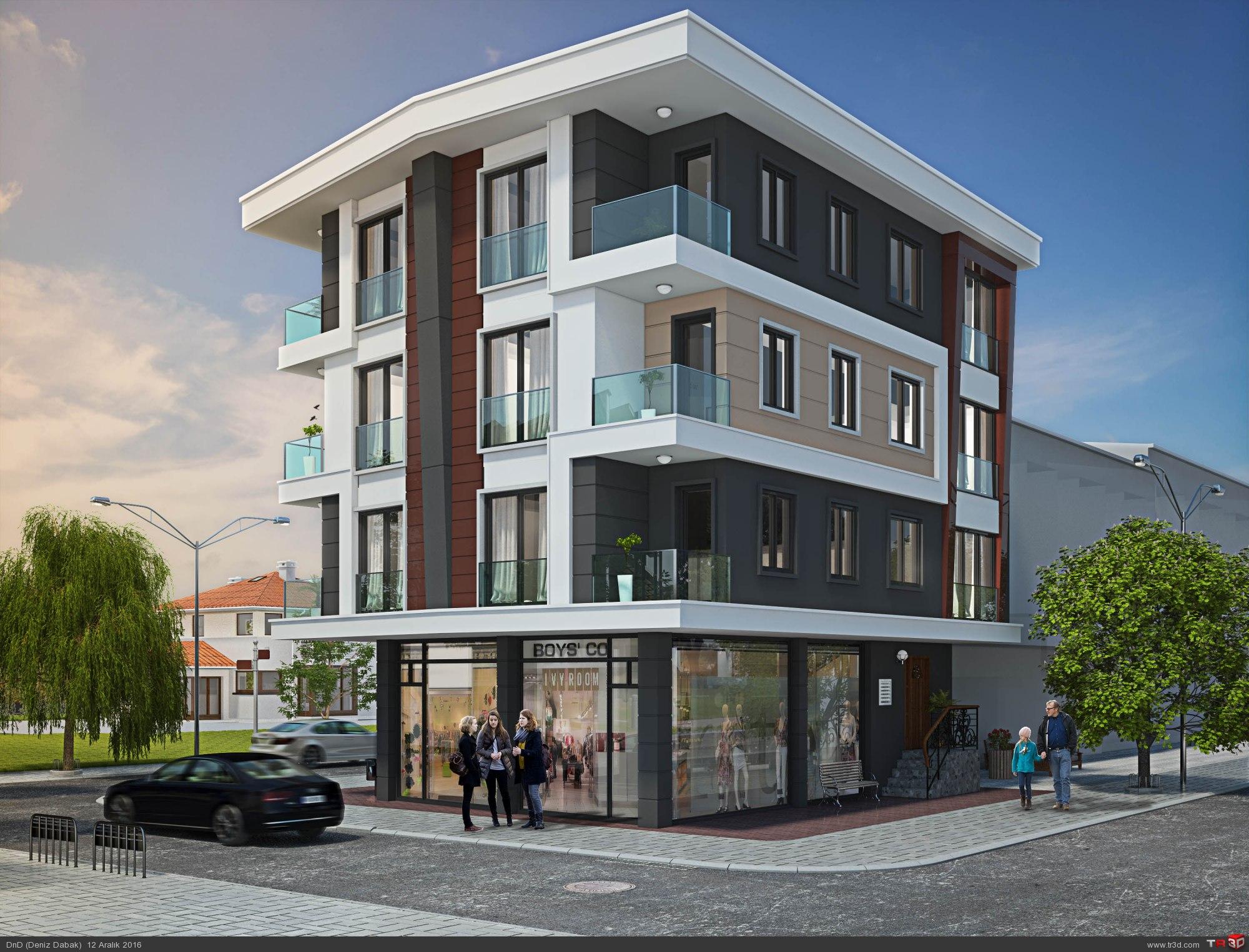Çekmeköy Apartman Projesi