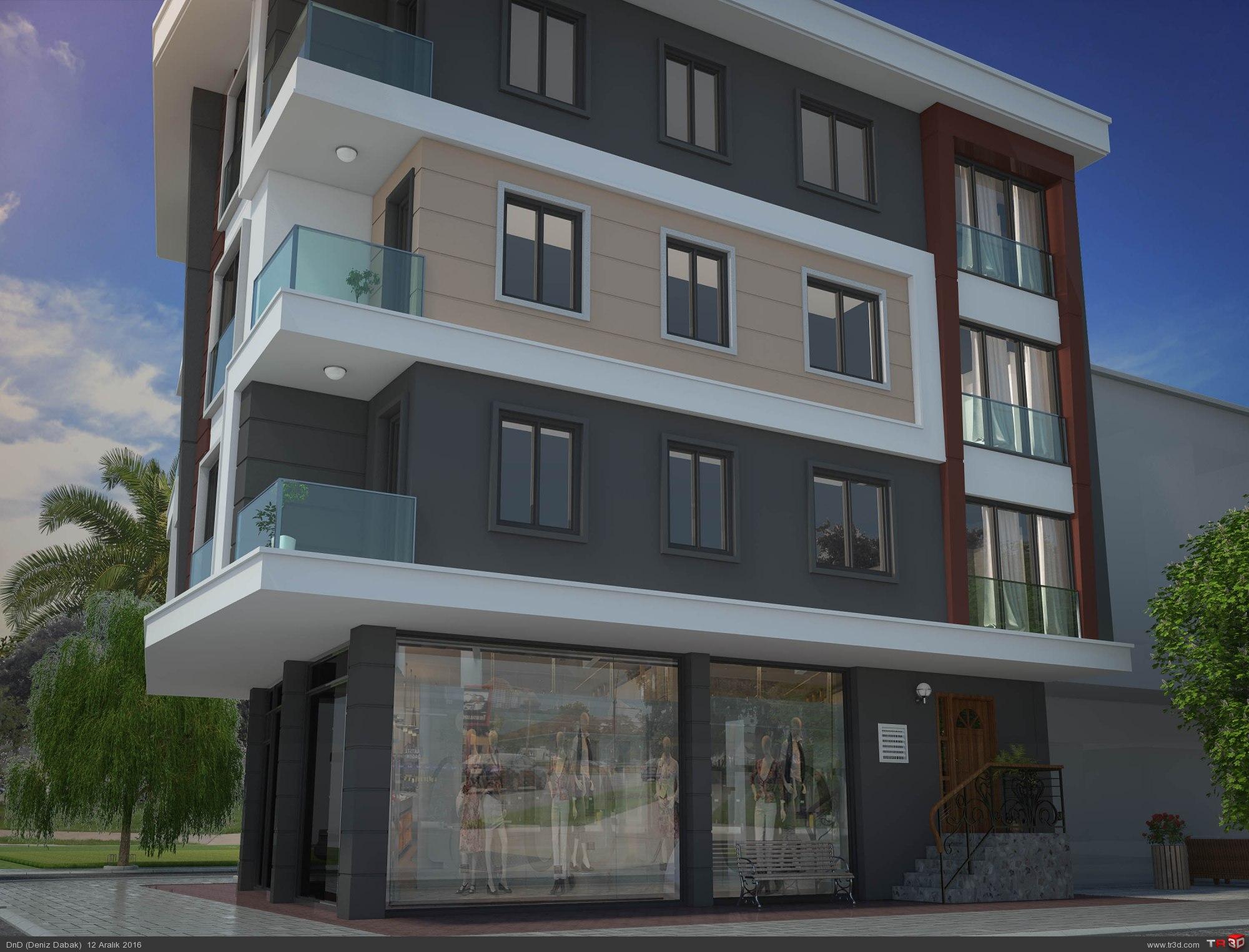 Çekmeköy Apartman Projesi 1