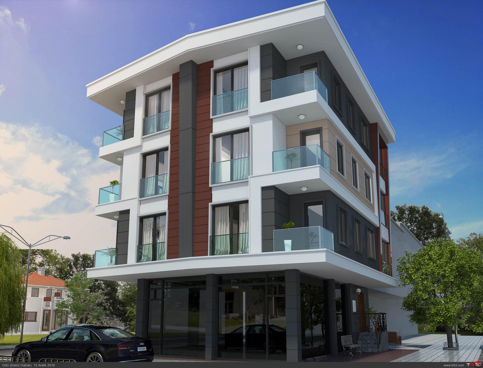 Çekmeköy Apartman Projesi 2