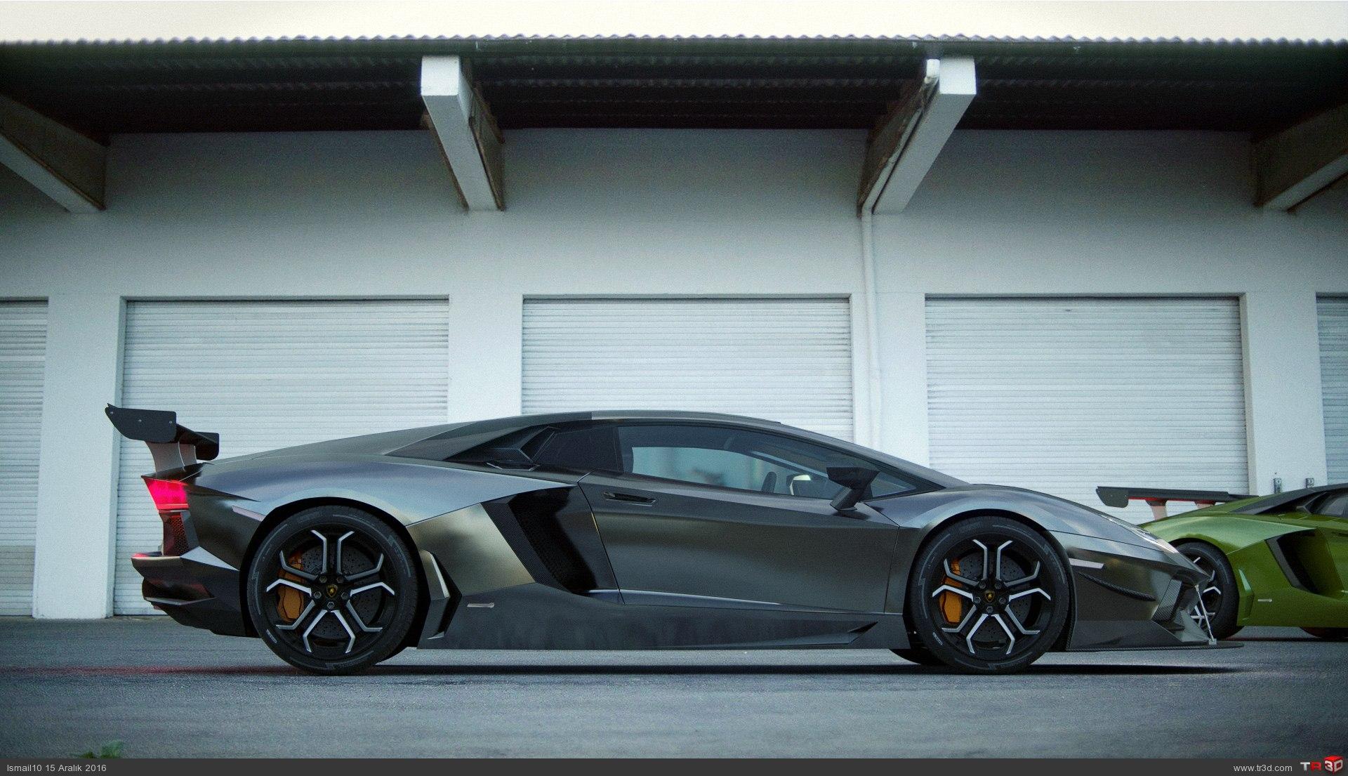 Lamborghini Aventador LP700-4_arkaplan 1