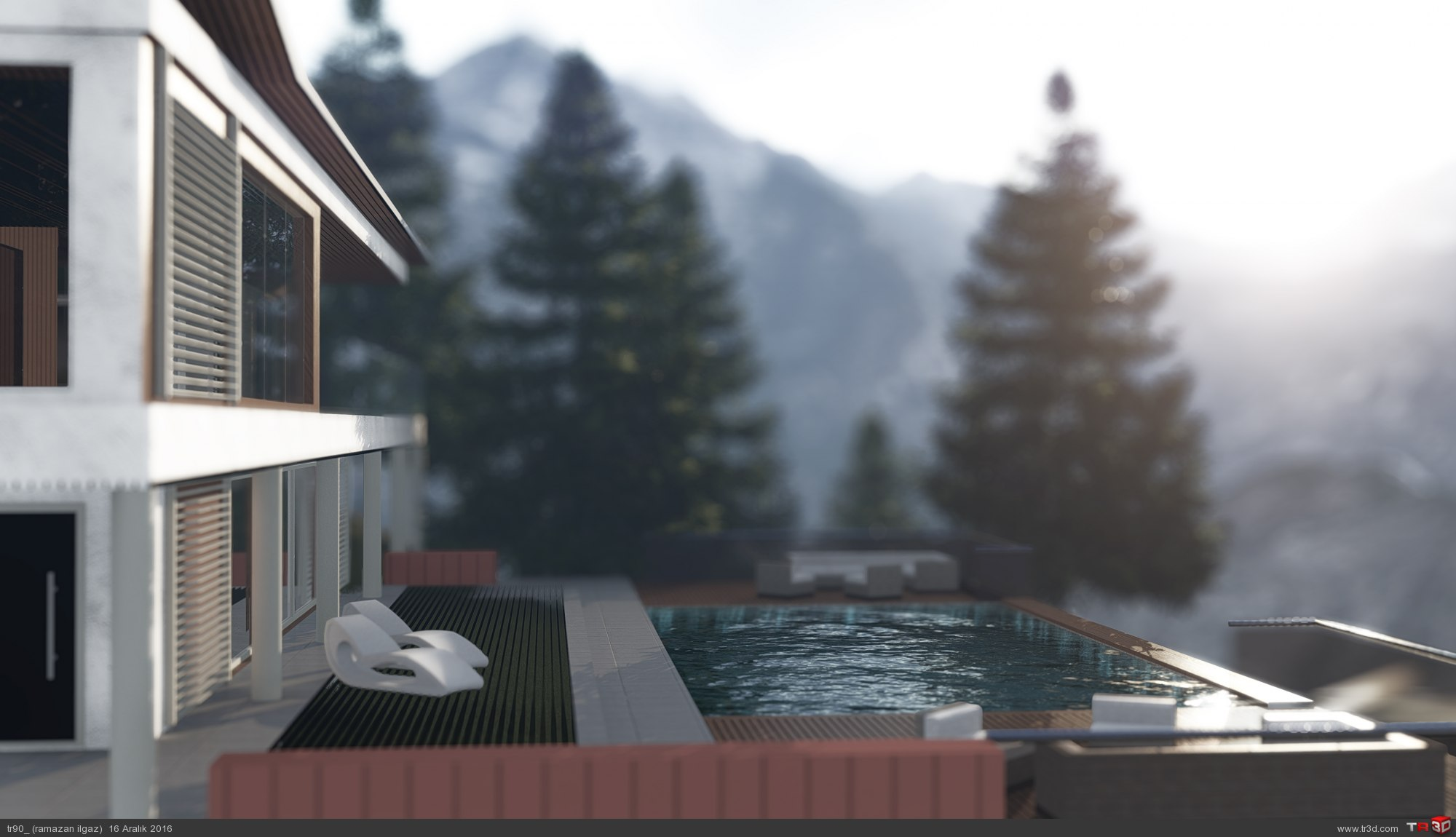dağ evi 1