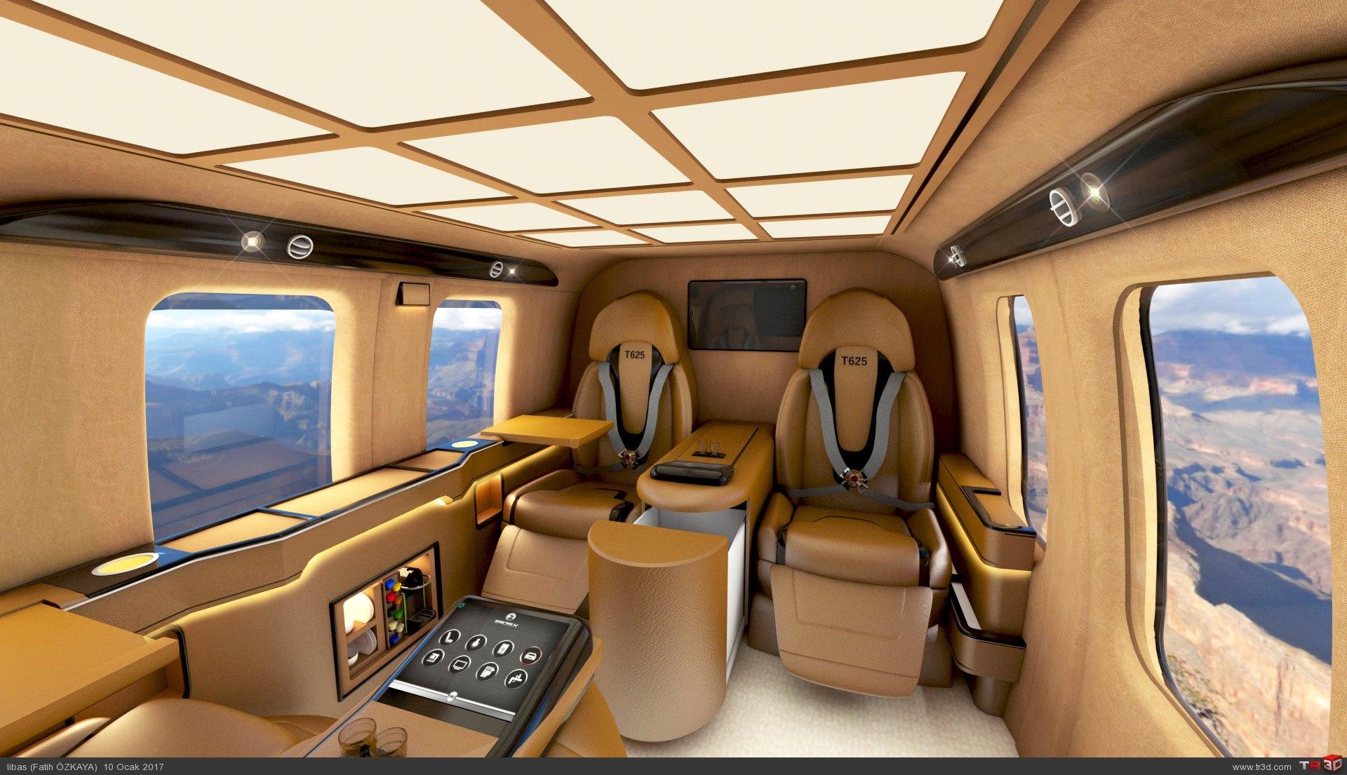 Vip helikopter tasarım