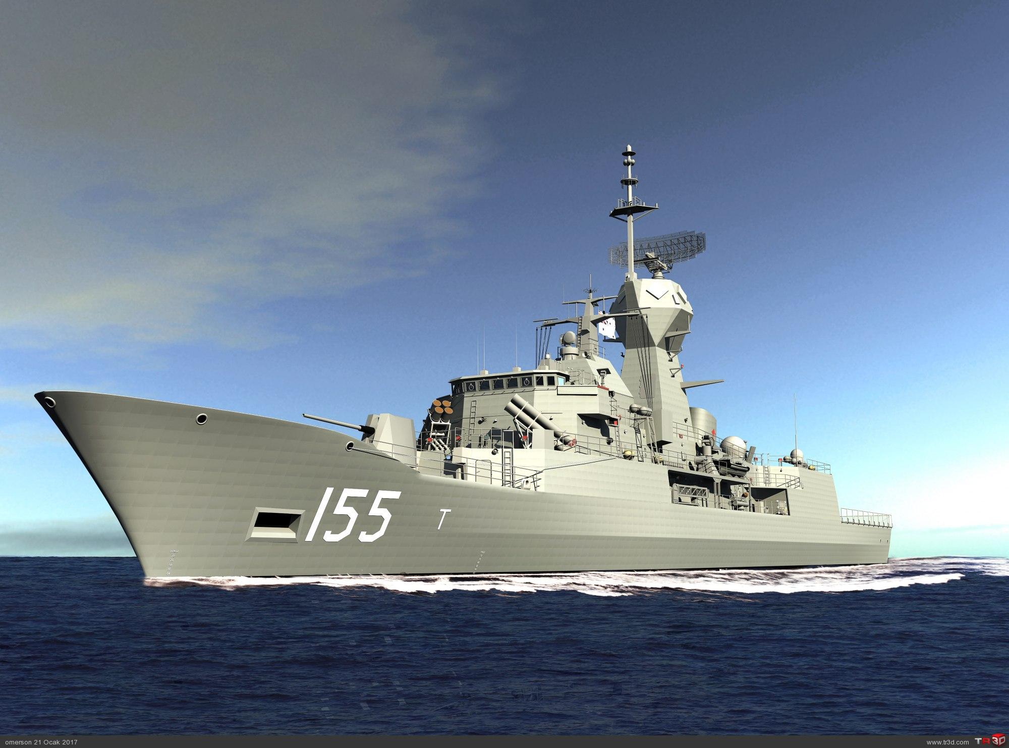 ANZAC CLASS FRIGATE HMAS BALLARAT