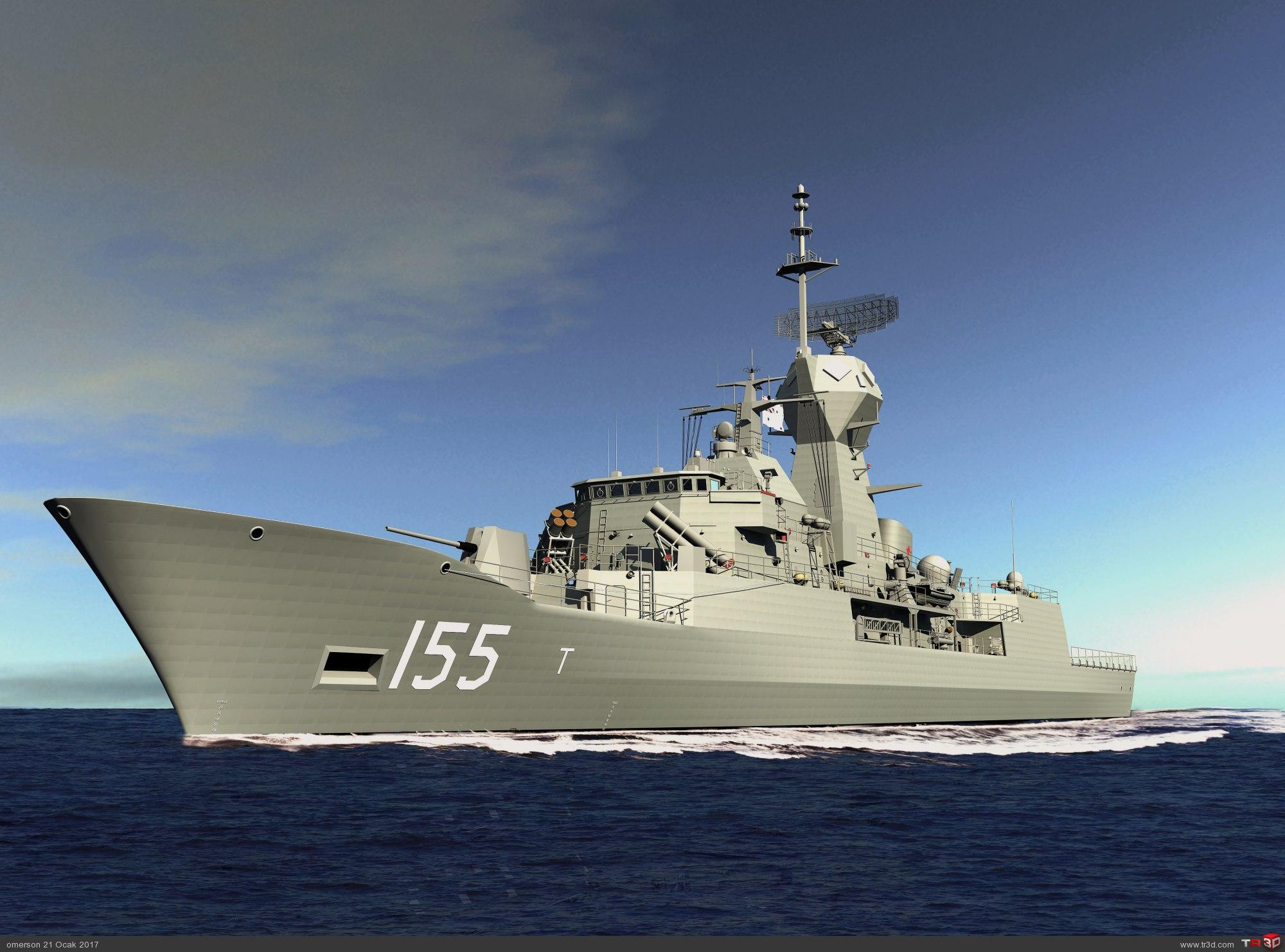 ANZAC CLASS FRIGATE HMAS BALLARAT 1